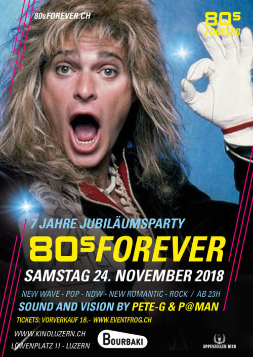80s Forever Luzern 24. November 2018