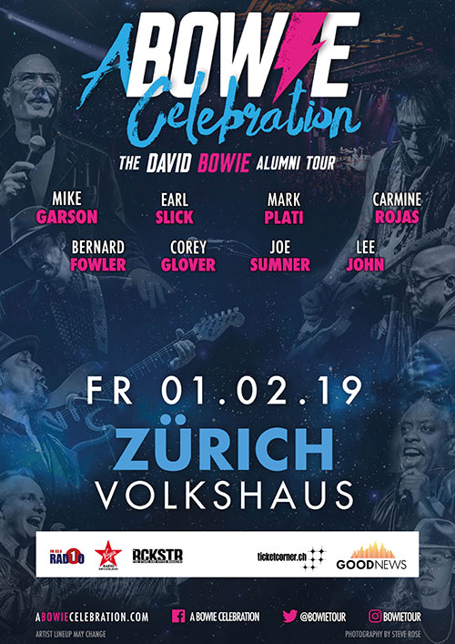 A Bowie Celebration Zürich Flyer