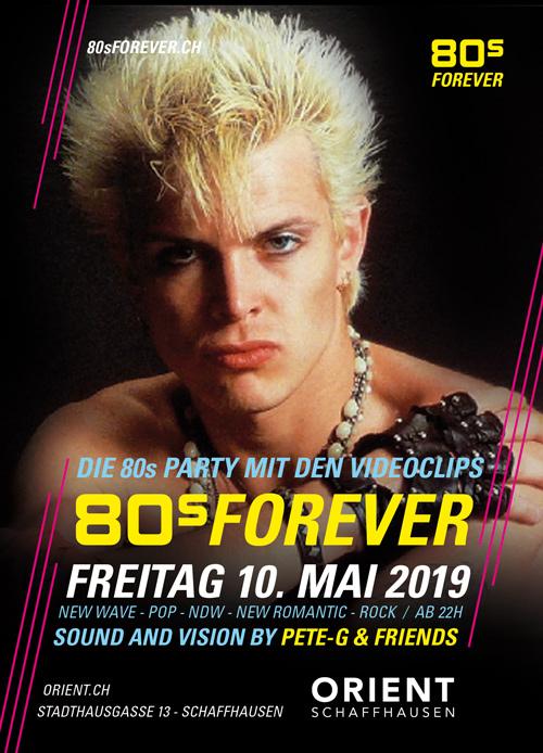80s Forever 80er Party Orient Schaffhausen