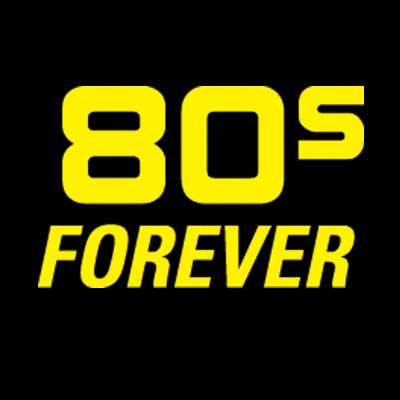 80s Forever Logo Block